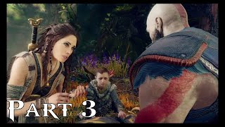 God of War PS4 Walkthrough Gameplay Part 3 (God of War 4)