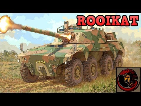 Rooikat Armored Fighting Vehicle  South African Firepower