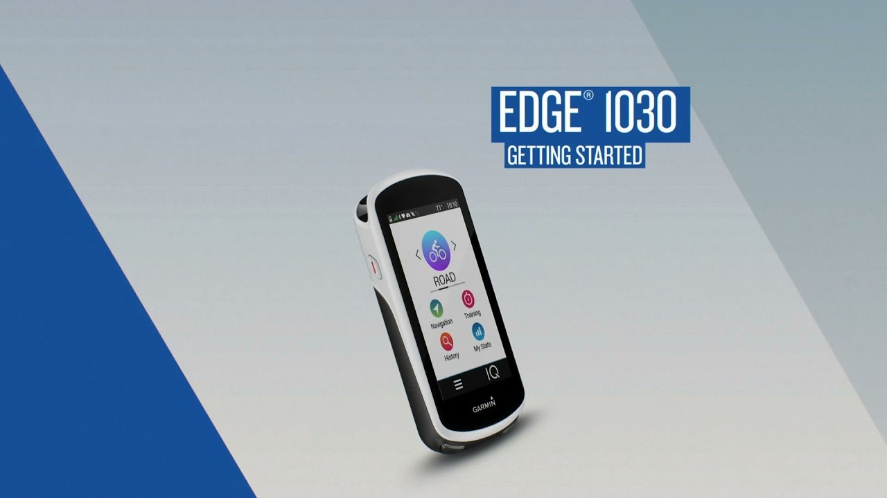 Garmin Edge 1030: Getting Started