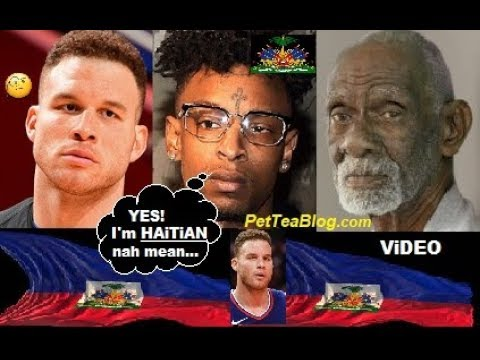21 Savage, Dr Sebi & Blake Griffin are HAITIAN (Video Proof) 🔴🔵