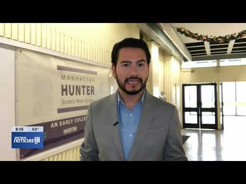 Manhattan Hunter Science High School NY1 Noticias