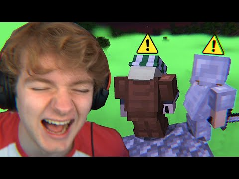Minecraft's Gas Mod Is Dangerously Funny... - TommyInnit