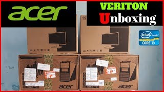 Acer Veriton Computer Unboxing and Setup by Technical Tips