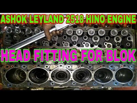 How To Head Fittings For Ashok Leyland Hino Earo ll, By Mechanic Gyan,