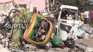 Somalia: Suicide bombing and gunmen attack on Mogadishu hotel leaves 18 dead