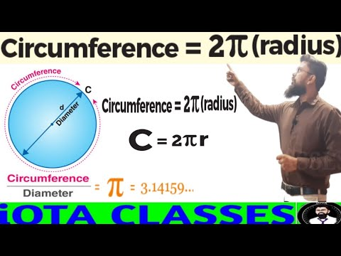 Download Derivation of circumference of a circle    how to find circumference of a circle    circumference
