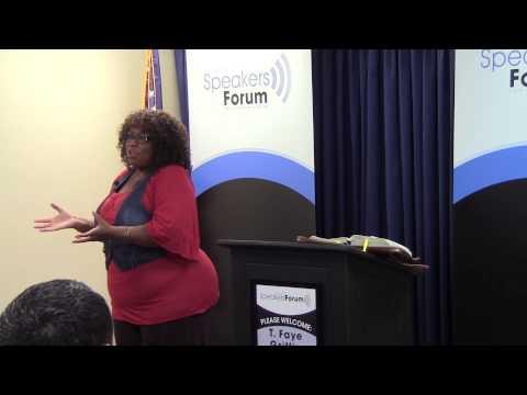 T Faye Griffin - Santa Fe Springs Speaker's Forum 6/14/13