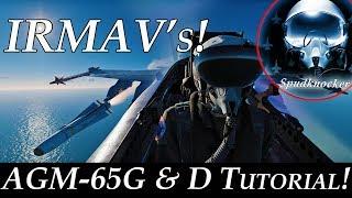 OLD! DCS: F/A-18C Hornet | OBSOLETE! IRMAV Tutorial! | AGM-65G & D