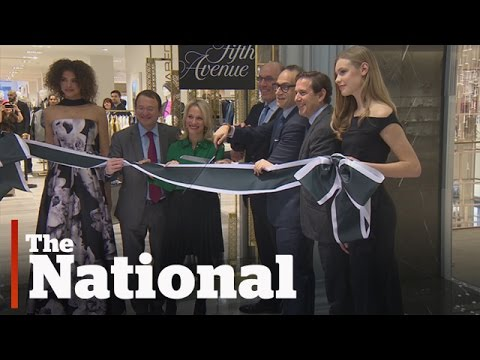 Saks Opens First Store In Canada