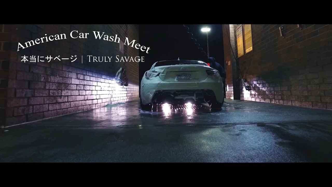 american car wash meet x truly savage 4k youtube. Black Bedroom Furniture Sets. Home Design Ideas