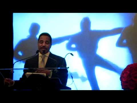 Marlon Jackson speaks at MJ's induction into the  National Museum of Dance