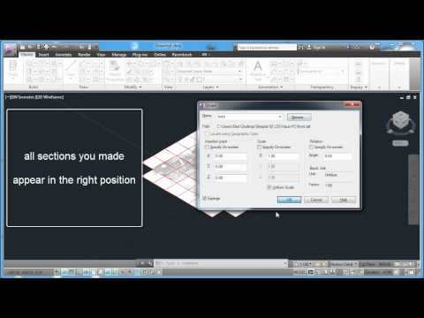 Laserscanning.TV - Tutorial 23 - Importing DXF files into AutoCAD