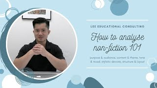 How to analyse non-fiction 101 (5 easy steps!)