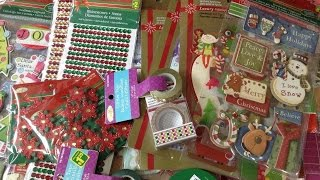 Dollarama Haul (Christmas Crafts)