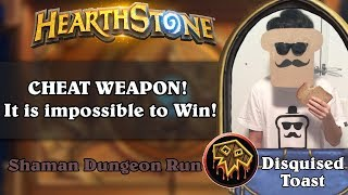 Disguised Toast Dungeon Run - CHEAT WEAPON! it is impossible to Win!