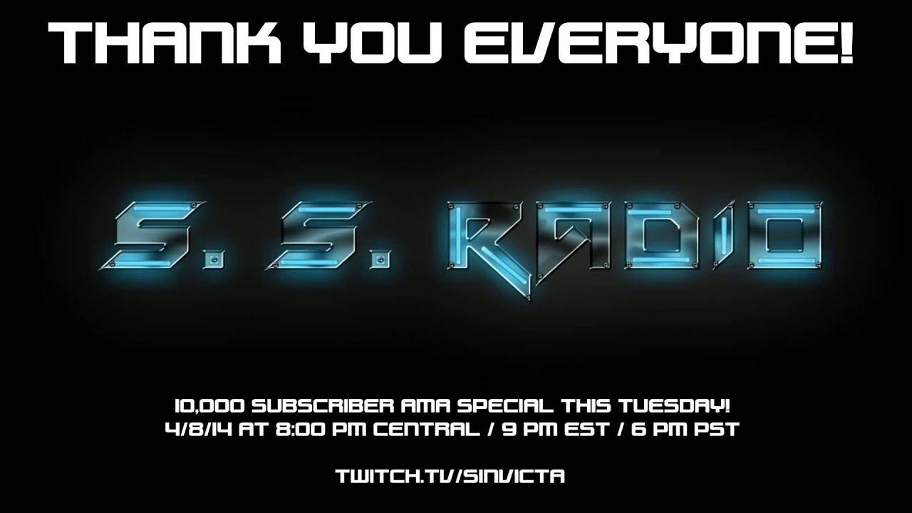 10,000 subscribers - YouTube