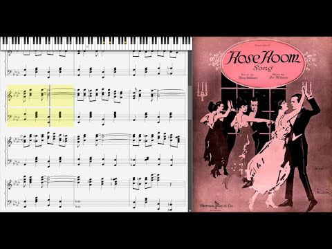 Rose Room by Art Hickman (1917, Ragtime piano)