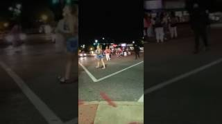 Protester gets hit by car in St. Louis