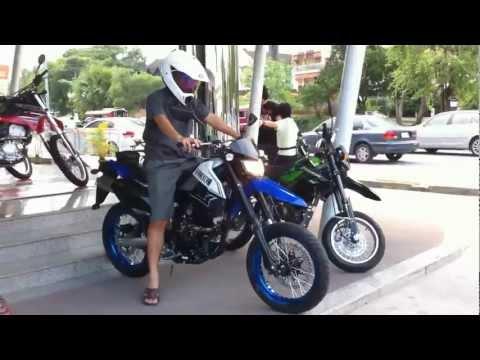 2012 Kawasaki D-Tracker X Blue