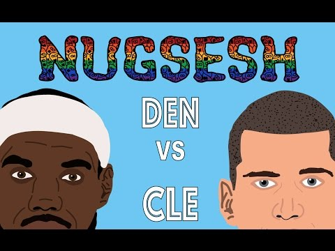 NUGSESH ANIMATION  Denver Nuggets vs Cleveland Cavaliers - March, 2017