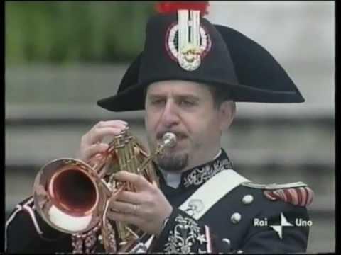 (Silenzio D'ordinanza) TAPS - Corrado Troiani - Giubileo Dei Militari 2000 Piazza S.Pietro