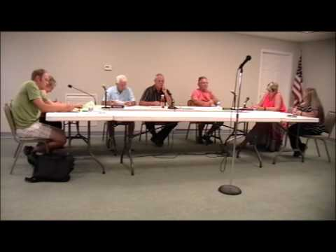August 8, 2016 Goodrich Village Council Meeting
