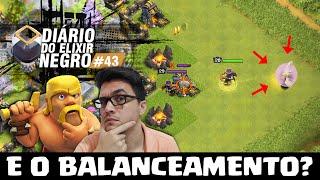 DIÁRIO do ELIXIR NEGRO #43 - NOSSO FARM APÓS O BALANCEAMENTO NO CLASH OF CLANS