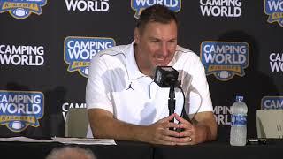Gators head coach Dan Mullen discusses win over miami