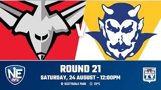 2019 NEAFL   Round 21   Redland V Canberra