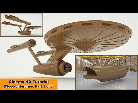Wood Enterprise - Part 1 (Cinema 4D Tutorial)