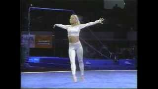 Kristie Phillips-Floor Ex-1997 Reeses Gymnastics-I Believe I Can Fly Thumbnail