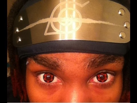 Sasuke Sharingan And Mangekyou Sharingan Contacts W How To Put In And Remove Contacts
