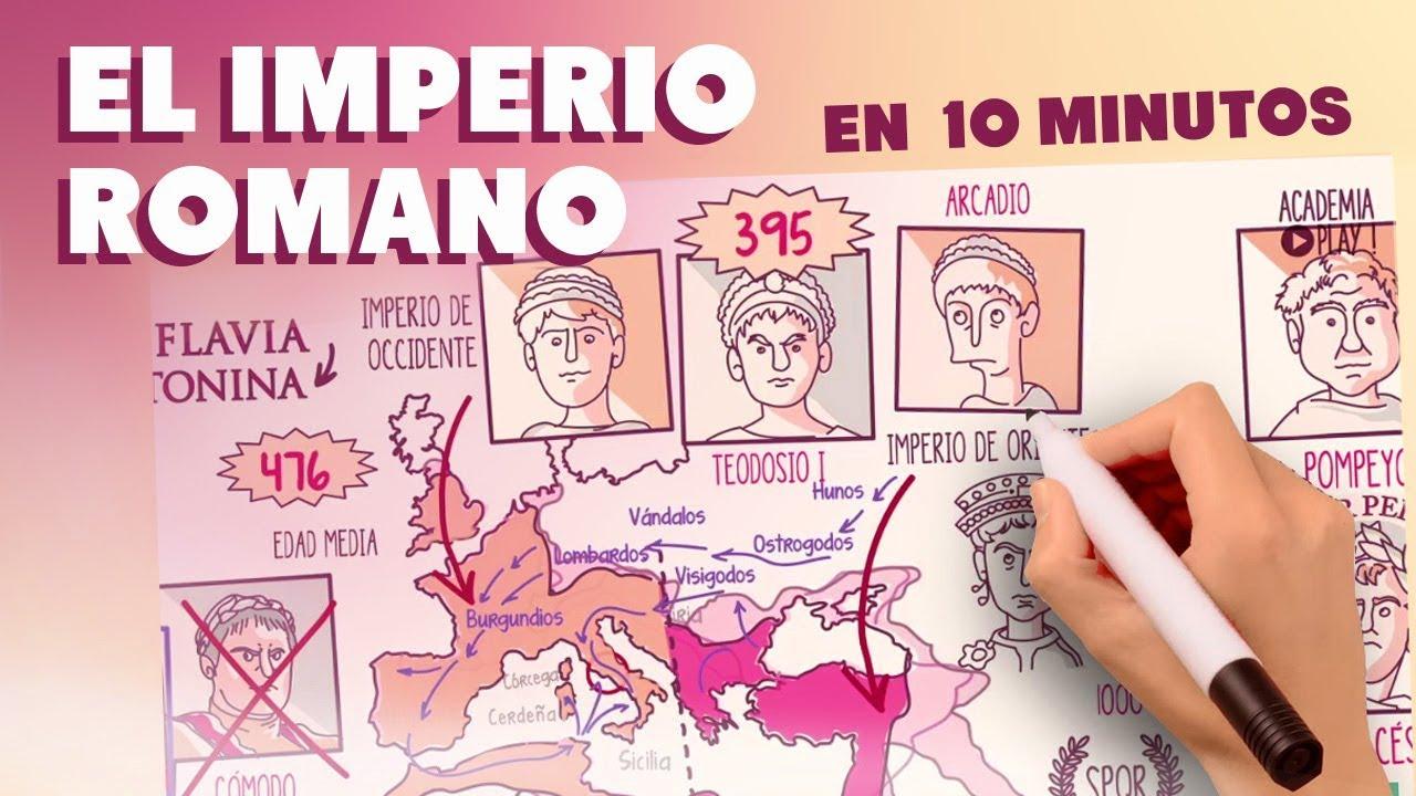 El Imperio Romano en 10 minutos - YouTube