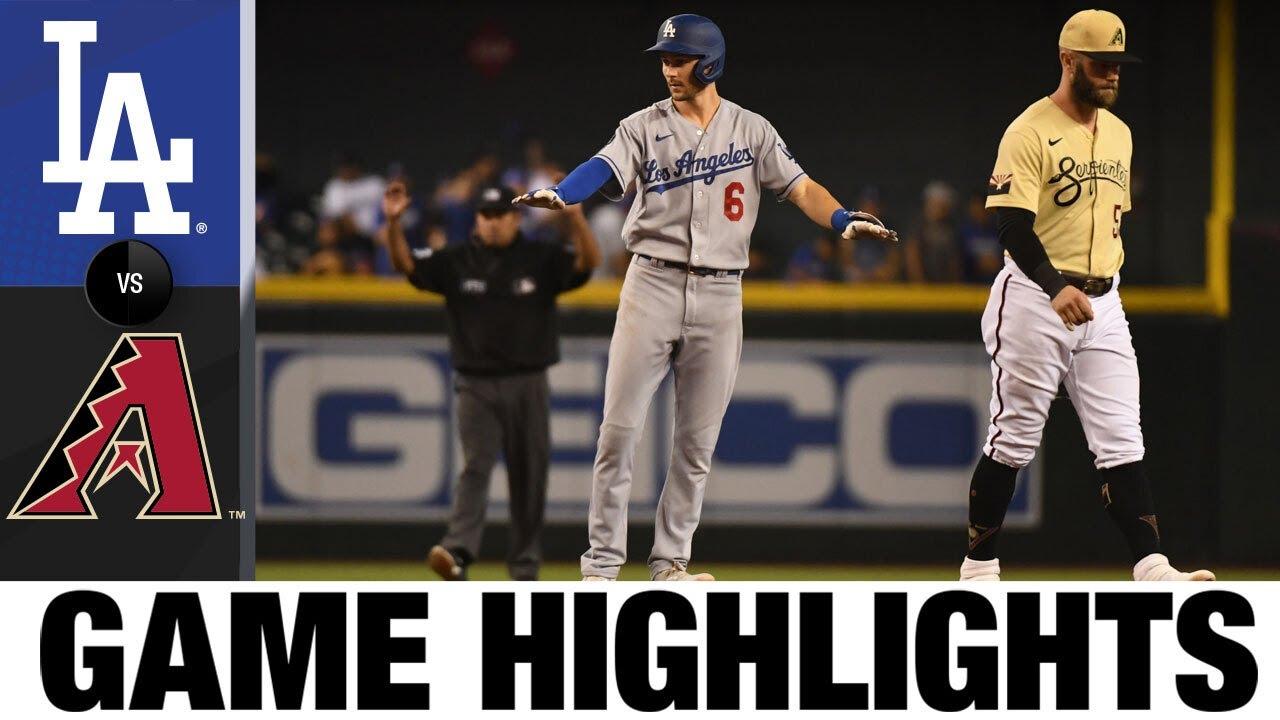 Download Dodgers vs. D-backs Game Highlights (9/26/21) | MLB Highlights