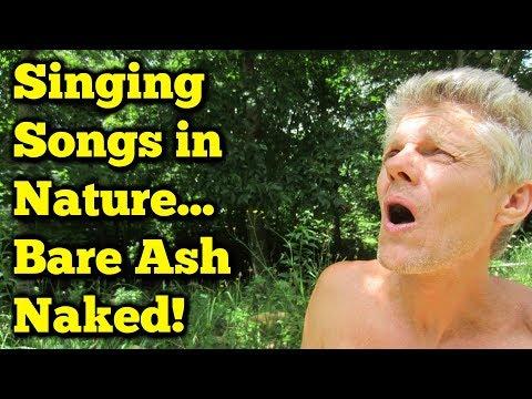 Singing Wild Mountain Thyme TOTALLY NAKED!  Ed Sheeran Lyrics.