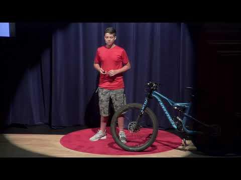 The Nomadic Freestyling of Mountain Biking | Anthony Pace | TEDxTheBenjaminSchool