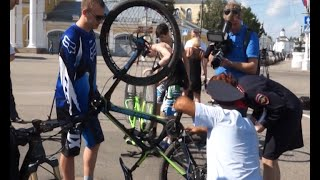 видео номер на раме велосипеда