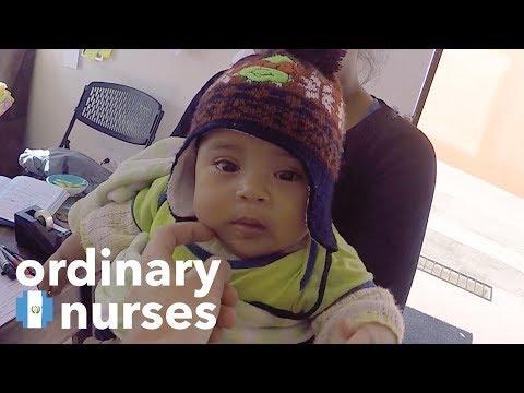 Baby Health Screening in Guatemala Village