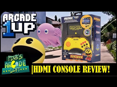 Arcade1Up Pac-Man HDMI Console Review! from PDubs Arcade Loft