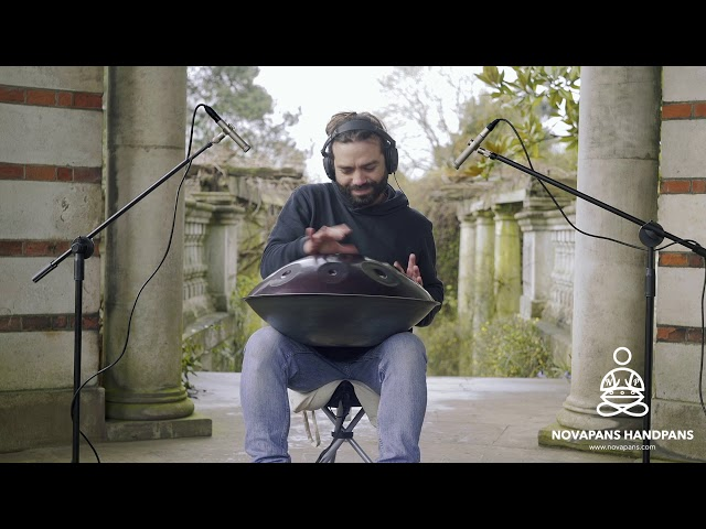 9 Note Handpan in E Celtic Minor Generation 3 | Gabriele Pollina | Novapans Handpans