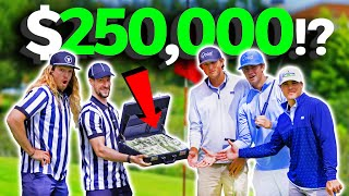 We Played a Golf Match For a $250,000 Prize
