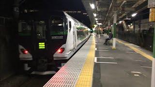 E257系5500番台 ホリデー快速鎌倉通過 北府中駅にて