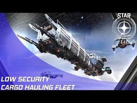 Star Citizen: Fleets - Low Security Cargo Convoy