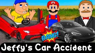 SML Movie: Jeffy's Car Accident! Animation