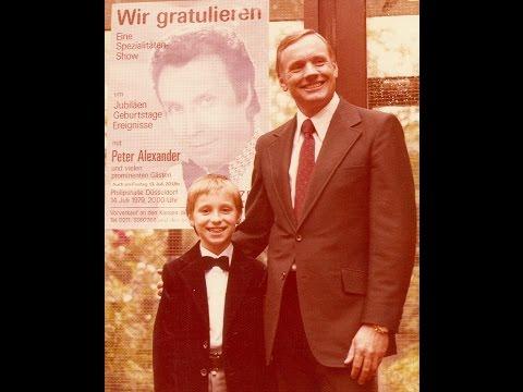 "1979 Peter Alexander Show ""Wir gratulieren"" 10 Jahre Mondlandung Apollo 11"