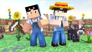 Minecraft: JARDINAGEM TAZERCRAFT! (Build Battle)