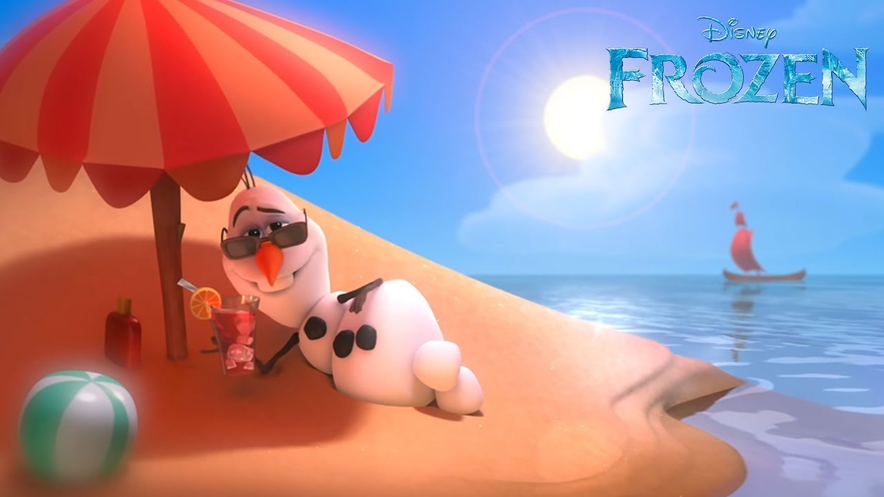 Image result for olaf in summer