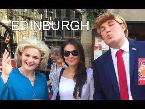 EDINBURGH FRINGE FESTIVAL - What goes on!