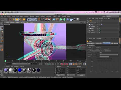 Stereoscopic Rendering in CINEMA 4D R13