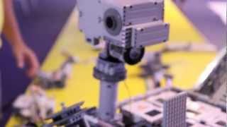 NASA MSL - Curiosity Mars Rover - LEGO MINDSTORMS